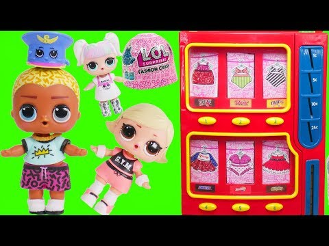 LOL Families Open Fashion Crush Custom Dresses | Unicorn Slumber Party for Kids Dolls