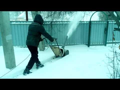 Снегоуборщик с электродвигателем своими руками