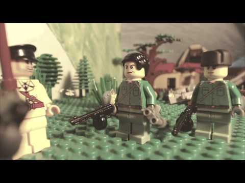 видео: First day of World War2/ Первый день ВОВ. Лего мультфильм о войне!