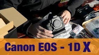 Unboxing my D4 replacement - the Canon 1DX