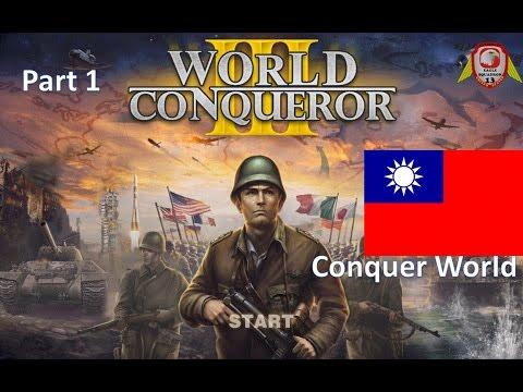 World Conqueror 3 Conquest World Republic of China (ROC) 1950 Part 1 [HD]