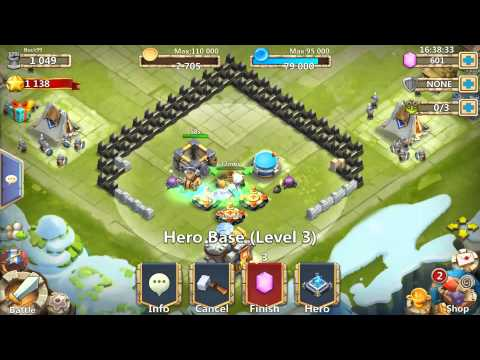 Castle Clash Thunder God Farm Guide Part 1/4