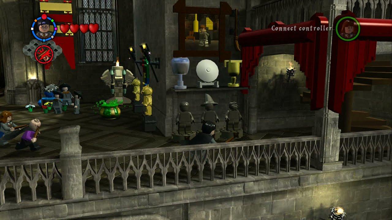 Lego Harry Potter Years 1 4 Hogwarts Overworld 100