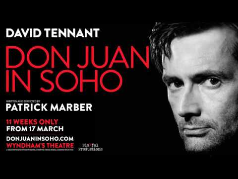 David Tennant - Don Juan In Soho Photo Shoot