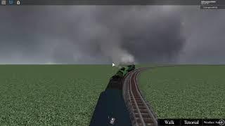 Roblox A Very British Layout (Longest Passenger train)
