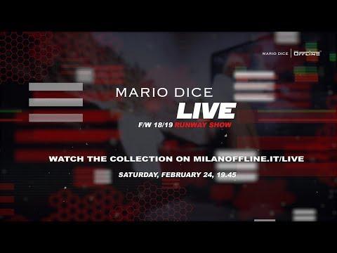 Mario Dice FW18/19 LIVE