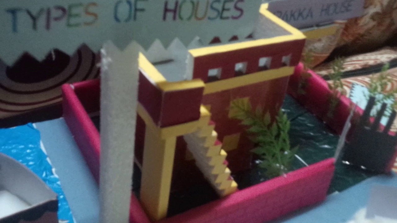 Types of houses school kids project youtube for Projects of houses