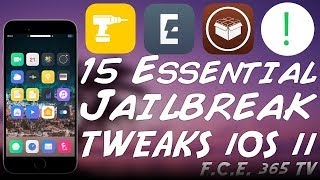 15 ESSENTIAL CYDIA TWEAKS You Must Have on iOS 11.3.1/11.2.x Jailbreak
