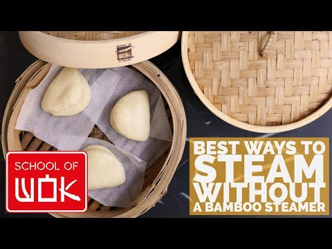 How to make steamed buns without yeast