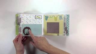 Echo Park Bundle of Joy Baby Boy Mini Album
