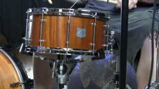 Mahogany VERY OLD 14x7 7/8 thick Staves Sound TEST!