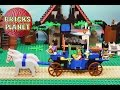 King's Carriage 6044 LEGO Castle - Stop Motion Review