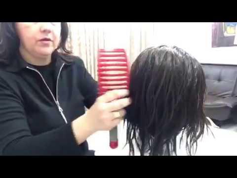 Как покрасить парик из натуральных волос в домашних условиях