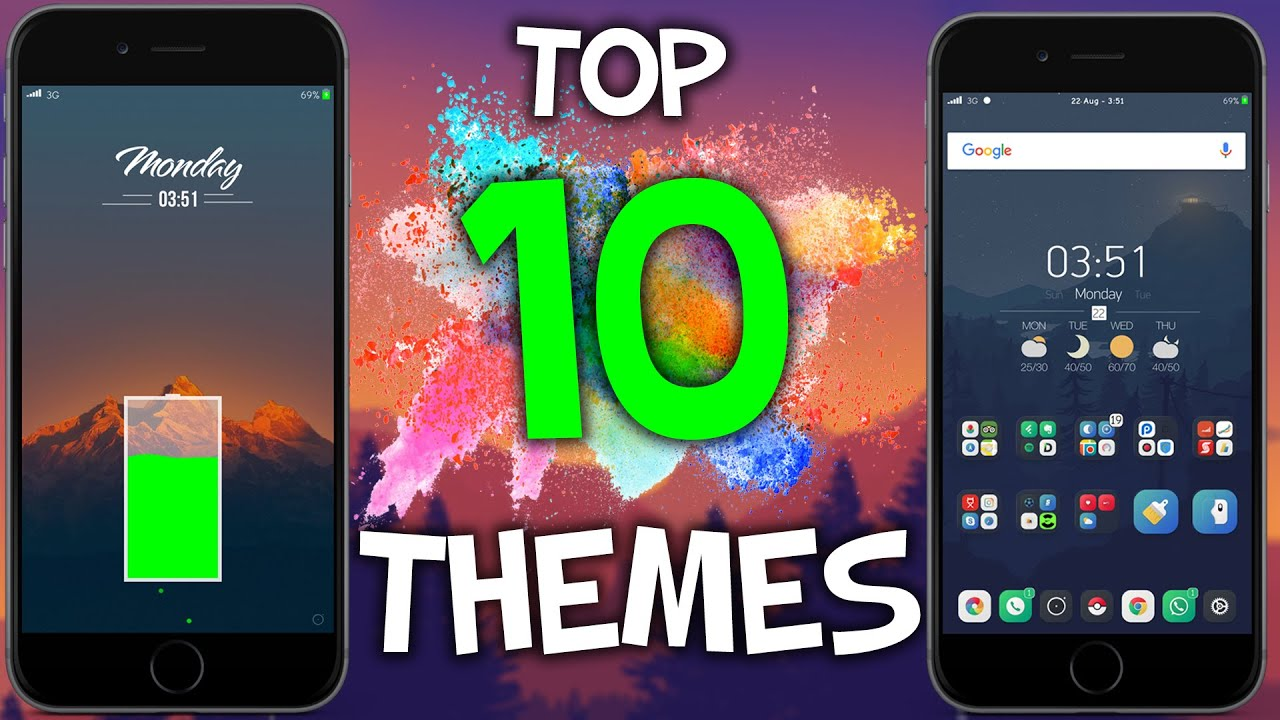 the best ios 9 3 3 themes 2016 iphone ipod touch jailbreak youtube
