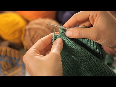 How To Bind Off In The Round | Circular Knitting
