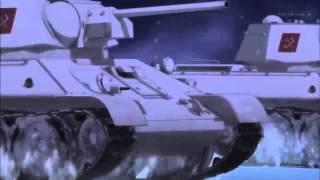 Песня Катюша японском аниме