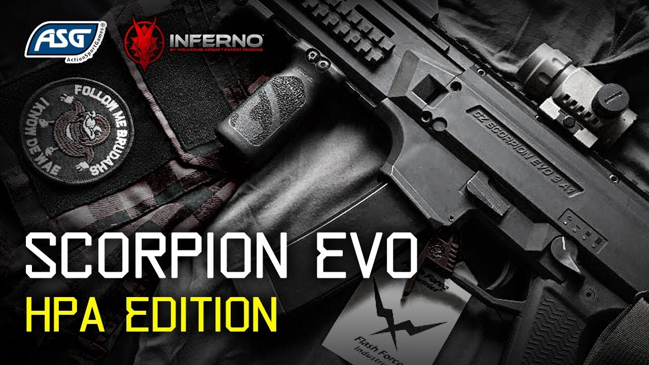 Asg Scorpion Evo 3 A1 Hpa Airsoft Gameplay Youtube