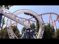 New Revolution Off-Ride Six Flags Magic Mountain HD 60fps