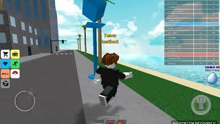 Playing roblox pokemon go