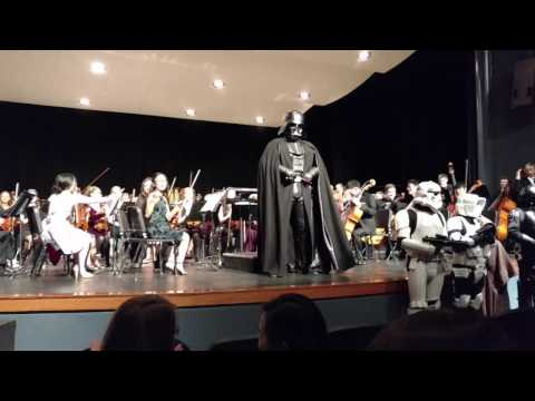 Star Wars Oregon Surprises Corvallis Youth Symphony Orchestra!