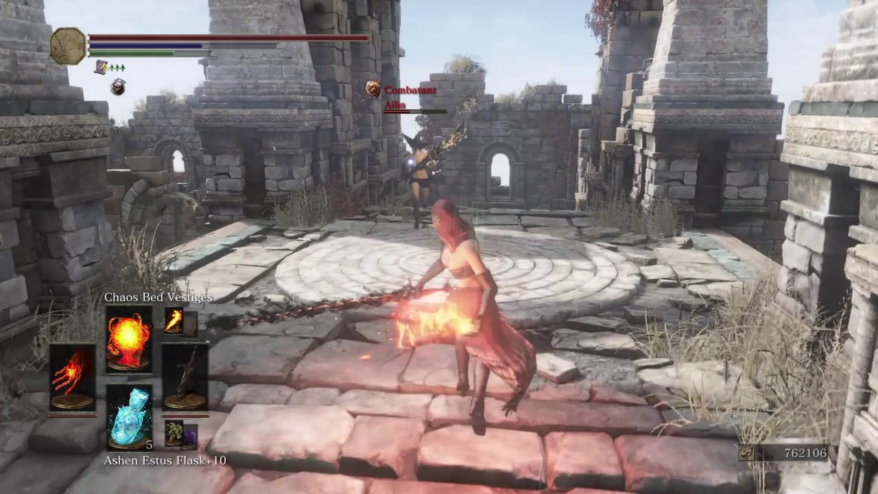 Dark Souls  Desert Pyromancer Build