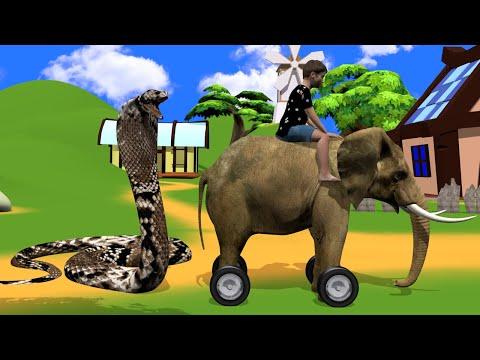 जादुई हाथी गाड़ी - Hindi Kahaniya | Magical Elephant Moral Stories | Story Demand |
