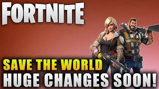 "Fortnite Save The World Update ""Fortnite New Update Info"" Fortnite Christmas Update"