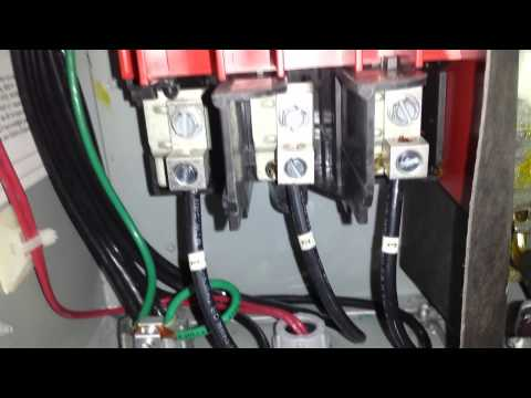 How to check a 3 phase motor system