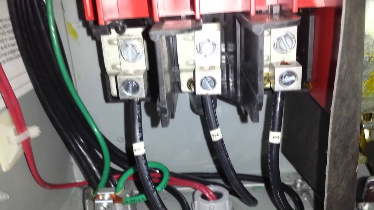 How To Check A 3 Phase Motor System Wiring Three