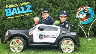 The Kid Cops, Sketchy Mechanic and Breakaway Ballz Surprise Mystery Unboxing