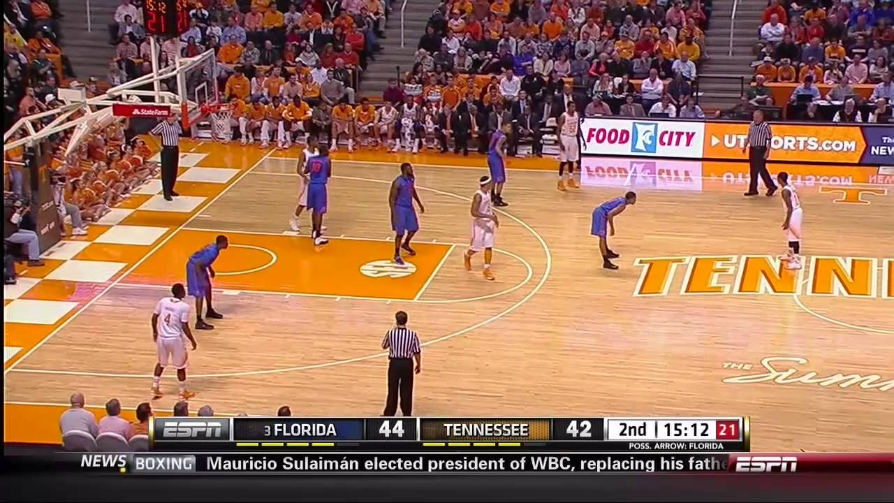 2014 Florida at Tennessee Basketball 720p x264