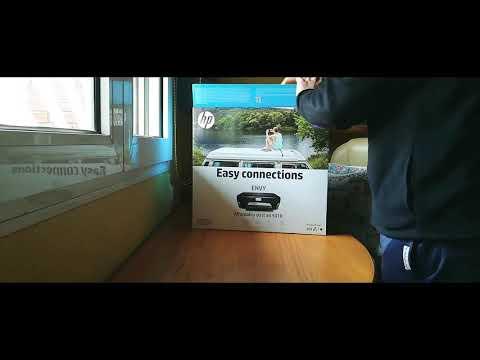 Unboxing Impresora Hp 5010 series