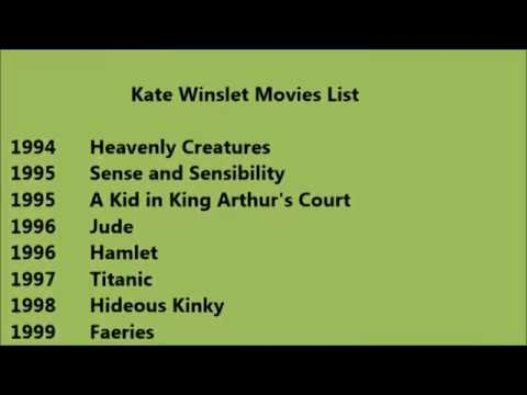 Kate Winslet Movies List - YouTube