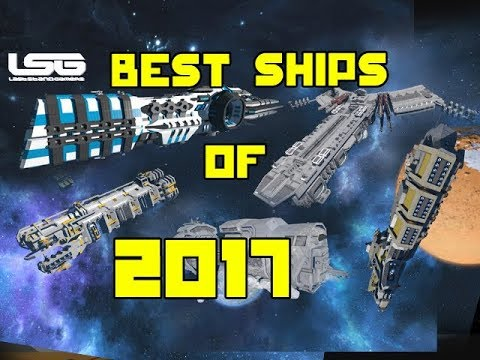 BEST SHIP BUILDS OF 2017 - Space Engineers