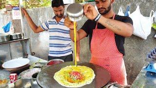 Mumbai Maharaja Omelette    Creamy Egg Dish Recipe    Street Food India