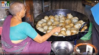 Mysore Round and Puffy Fritter | Street Food