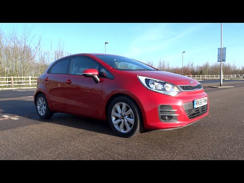 2015 Kia Rio 1.4 107 ISG '2' (5-door) Start-Up and Full Vehicle Tour