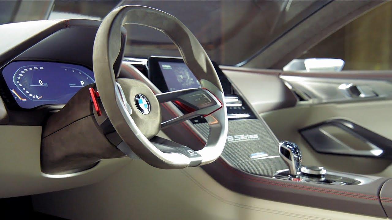 Bmw M9 Interior >> BMW 8 Series Concept - Interior - YouTube