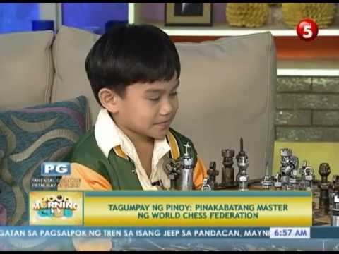 News5E l PINOY, PINAKABATANG FIDE CHESS MASTER