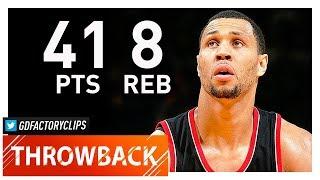 Throwback: Brandon Roy Full Highlights vs Warriors (2010.03.11) - 41 Pts, 8 Reb, BEAST!!