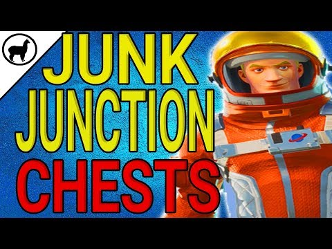 Search Chests in Junk Junction Locations | Season 3 Battle Pass Week 3 | Fortnite Battle Royale Tips