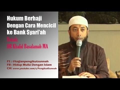 Tutorial membuka tabungan umroh pada bank syariah.