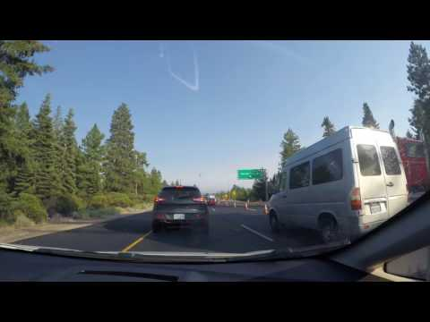 McKenzie Bridge, OR to Walnut Creek, CA