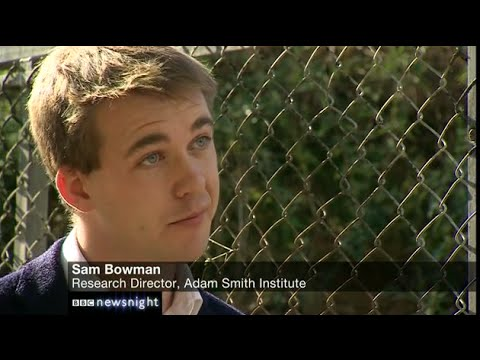 Sam Bowman discusses rolling back the greenbelt outside of London on BBC Newsnight