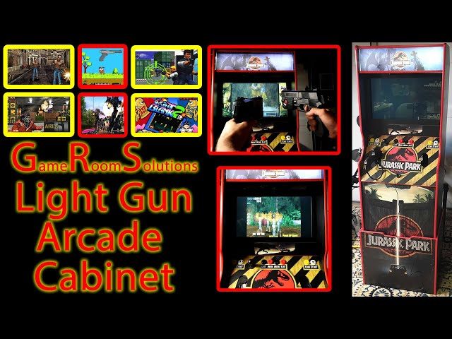One Of A Kind Light Gun Arcade - Plays EVERYTHING