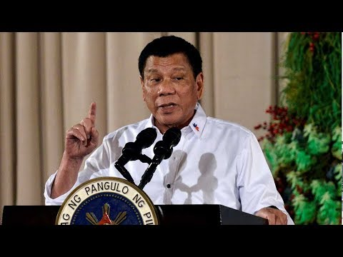 Philippine President Duterte vows not to visit the US