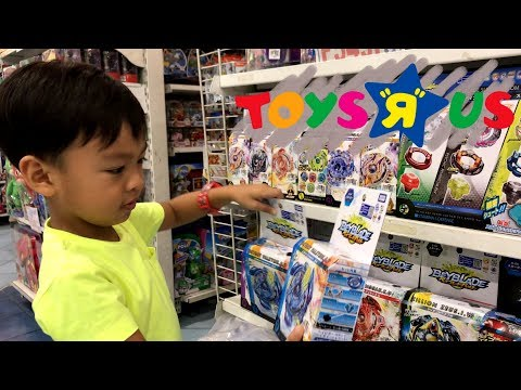 Buying Beyblade And McQueen Ball At Toys R Us Robinsons Mall And Megamall Toy Video For Kids