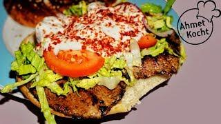 Döner mit Scheibenfleisch im Fladenbrot | Ahmet Kocht | türkisch kochen | Folge 276