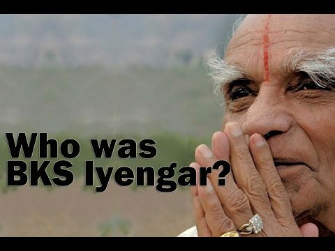 Who was BKS Iyengar