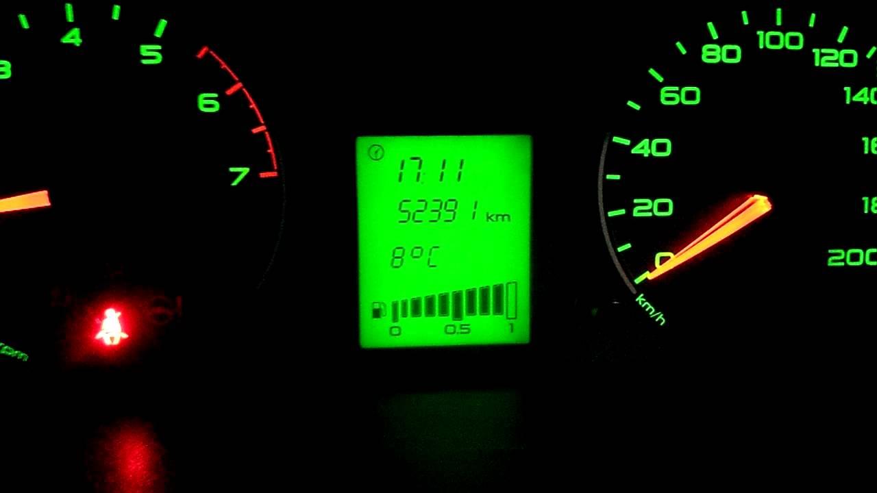 Обзор прошивки комбинации приборов на Лада Гранте с температурой двигателя и окружающей среды